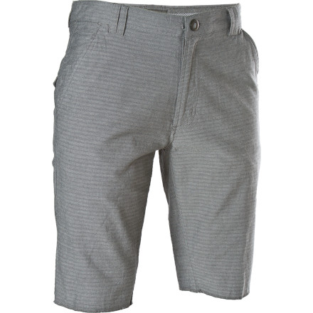 Skateboard Ever since your landlady saw you skate while wearing the Element Fillmore Short she's stopped complaining about you sleeping until noon, your tattooed friends, and utter lack of employment. Is it because she finally saw you doing something you were good at, or because this herringbone chino looked too damn good - $24.73