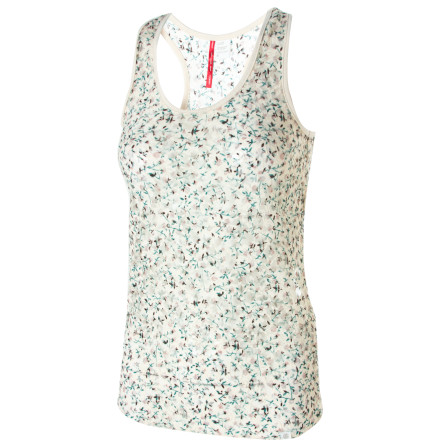 Skateboard Pull on the Element Helena Knit Tank Top when you want to look like a midsummer night's dream. This form-fitting tank features a lacy trim and an all-over floral print. - $17.67