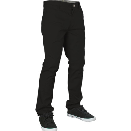 Skateboard The Element Venice Pant hooks up timeless chino style in a modern slim straight fit that's tailored, but not super tight. - $35.39