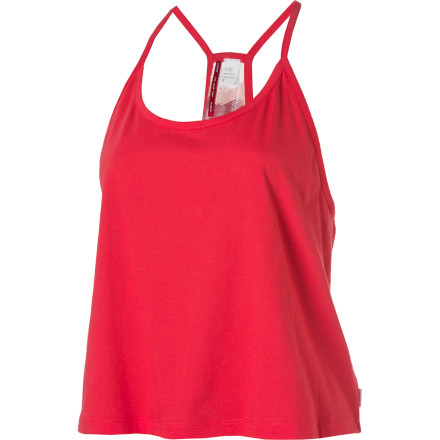 Skateboard The Element Women's Iris Tank Top gets you stoked for warmer temperatures thanks to its loose fit, tank top style, and bright colors. - $10.34