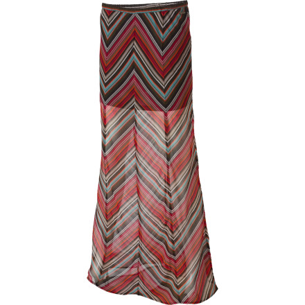 Skateboard The Element Women's Mazatlan Skirt provides a crisp, clean look for your job interview, dinner date, or gallery opening. - $27.23