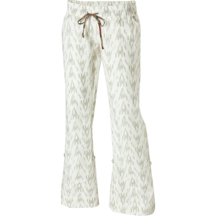Entertainment Slip into your Element Women's Villanova Pants, and turn your headphones up until you can't hear anything else. Then, pretend that you are in a music video and walk to the beat down the street until you hit a stoplight. That's where you dance. - $19.73