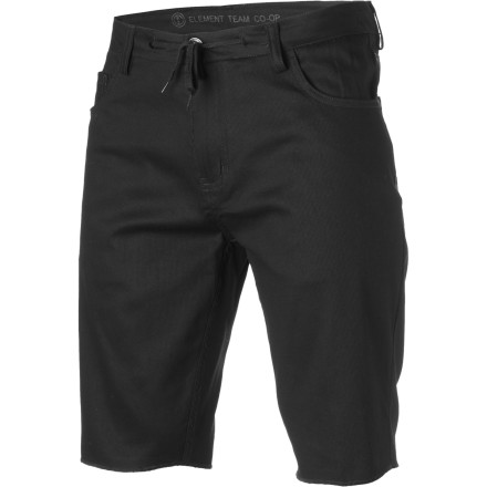 Skateboard With a just-right outseam length and stretchy, durable bedford cord fabric, the Element Team Short is your new favorite piece of clothing for hot summer skate sessions. - $35.39