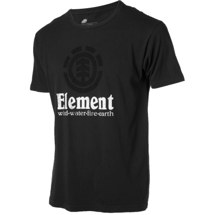 Skateboard Build a quality T-shirt, print an Element logo on the front to give it serious legitimacy, and you have just followed a time-honored recipe for making a totally decent shirt with straightforward style. The Element Vertical Short-Sleeve T-Shirt serves up classic fashion so you get an ultra-comfy shirt that you can wear anytime, anywhere. - $16.77