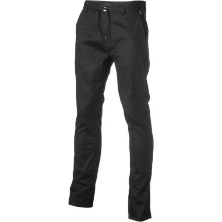 Skateboard Element's Team Pant features a burly, slightly stretchy cotton twill fabric that's perfect for skating or just kicking it. - $29.73