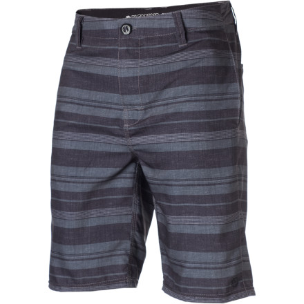 Surf The Element Departure Hybrid Shorts bridge the gap between casual walking shorts and board shorts. Throw these on when you're planning on taking a long lunch to hit the beach. - $35.67