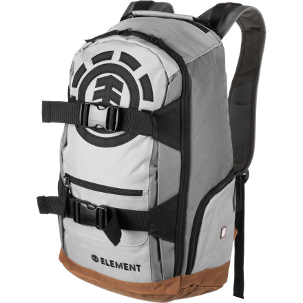 Skateboard If your old bag has seen its best days, reboot your means to transport gear to rogue skate spots, books and comp to class, or lunch and an extra jacket to work with the Element Mohave 2.0 Backpack. - $44.95