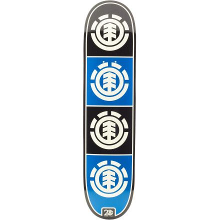 Skateboard Celebrate 20 years of progressive skateboarding and environmentally conscious manufacturing with the Element 20 Year Thriftwood Skate Deck. - $41.56