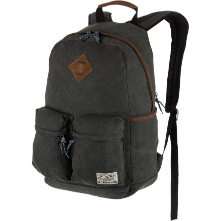 Camp and Hike Re-live your middle school years with the Element Frontier Backpack. Although you should probably skip the crippling social awkwardness and just focus on this pack's nostalgia-inspiring retro design. - $65.95