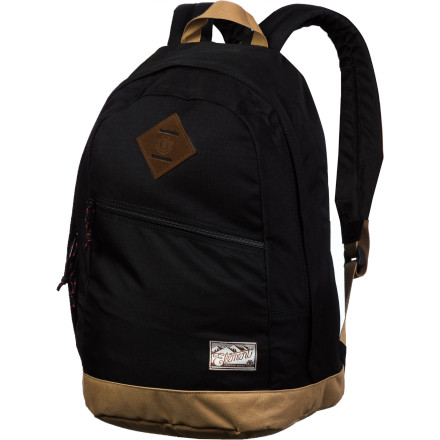 Camp and Hike You aren't trying to make some kind of profound fashion statement, you're just trying to carry your stuff from point A to point B. The Element Camden Backpack isn't trying to be something that it's not. Or maybe minimalism IS your fashion statement ... - $39.45