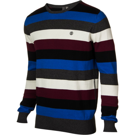 Skateboard What can we say about the Element Reyes sweater It's comfortable cotton and it looks great. - $27.98
