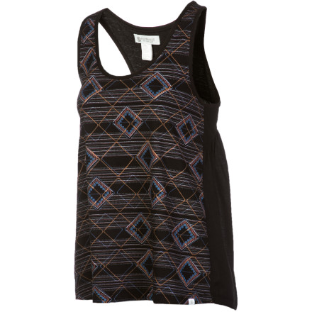 Skateboard The Element Women's Cassy Tank Top gives you the kind of laid-back style that is perfect for lounging in a hammock or cloud-watching in the park. The look is casual and relaxed, and the soft fabric makes you feel at home wherever you are. - $17.67
