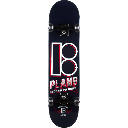 Skateboard Whether you're a numbers man or a letters man, you will appreciate the fine wood and quality parts featured in the Element Letterman Complete Skateboard. - $80.96