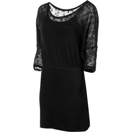 Entertainment Wear the Element Emily Dress when you need a dressed-up look that is sophisticated without being boring and sexy without looking cheap. This dress is understated enough for work or a date, but it is also elegant enough for a special-event wear. - $29.95