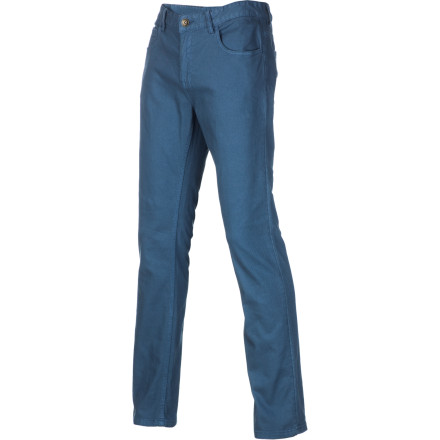 Skateboard The Element Desoto Denim Pant features a modern slim-straight fit and stretchy fabric so you can pop tre-flips without feeling restricted. - $41.89