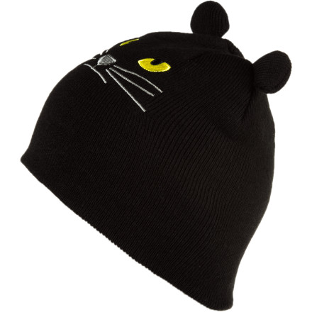 Snowboard Initiate a game of some serious cat and mouse when you wear the Elm Company Wild Life Series Beanie. Whether you are stalking or being stalked, this soft acrylic beanie keeps your noggin warm in the process. Let the Wild Life Series Beanie absorb the beads of sweat forming on your brow right before you pounce. - $11.23