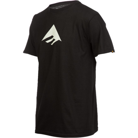Skateboard Wearing the Emerica Men's Triangle 7.0 T-Shirt is guaranteed to have absolutely no effect on your irritable bowel syndrome. - $13.62