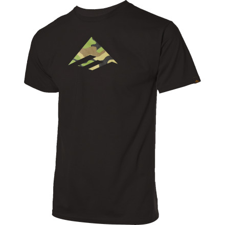 The triangle is calling you. Put on the Emerica Triangle Fill 12.0 T-Shirt and do whatever the triangle says. - $13.62