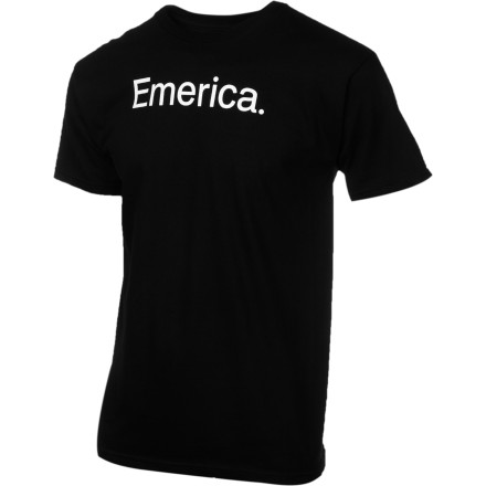 Emerica called this the Pure 7.0 T-Shirt because it's made with 100% cotton. We think that's just dandy. - $19.95