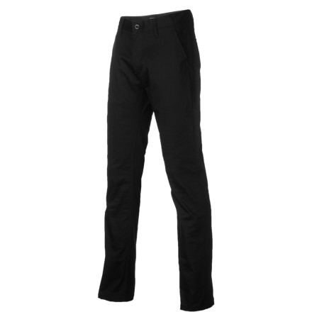 The Emerica Belmont Chino Pant features a modern slim-straight fit that's tailored but not tight. - $23.38