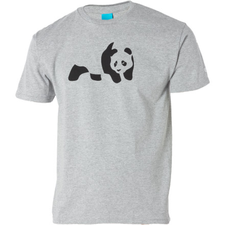 Skateboard The good folks at Enjoi know how much you love your fluffy bamboo-eating, forest-inhabiting friends, which is why they cooked up the Men's Panda T-Shirt. This cotton tee complements your heart-felt fervor for all things cuddly and soft, and it won't judge you for fondling your stuffed rhino in the darkest corner of your room. - $21.95