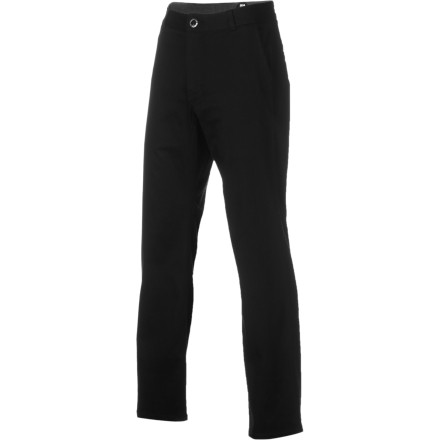The ERGO Men's Model D Pants give you a sleek, cool look that fulfills your fashion requirements should you stray into an art gallery opening. But, these twill pants won't bump your hoity-toity factor too high so you can still grab a beer with your buddies without feeling too fancy. - $40.57