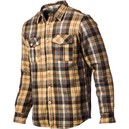 It's a shirt! No, it's a jacket! Stop your arguingthe everyday, ultra-versatile Ergo Men's Nepal Shirt Jacket combines the best of both the cotton flannel and cozy jacket. Wear it indoors when there's a nip in the air or outside chopping wood or roaming around town; this great-looking shirt-jacket it was born for double-duty. - $31.17