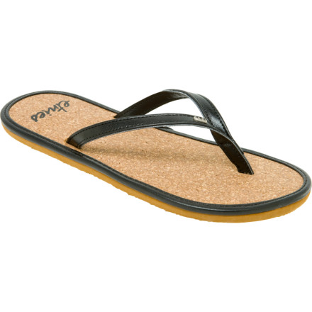 Skateboard If Thoreau was a sandals kind of guy, the Etnies Womens Flats Sandal would be right up his alley. The Flats simple design provides comfort with understated style. Soft EVA tread cushions your foot while the natural cork footbed gives you traction. Etnies logo hardwear gives out a little fist bump for the brand. - $11.37