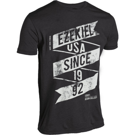 It's probably better to go with a flawless heather than a flawed one. Thankfully, the Ezekiel Flawless Heather T-Shirt is just thata perfectly comfortable cotton/polyester blend spun from the finest heathers in all the land. - $15.92