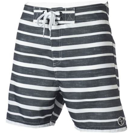 Surf The Ezekiel Mohawk 18in Board Shorts might not give you as much punk-rock street cred as an actual mohawk, but they're also a lot easier to maintain. - $32.97