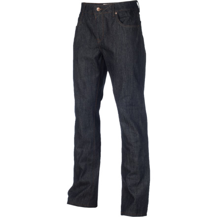 The medium-fit Ezekiel EZ Rider 302 Denim Pant allows you to move without restriction thanks to a roomy fit and a 17-inch leg opening. The added stretch to the denim also helps with mobility whether you're ripping on the ol' board or dancing the night away. - $38.32