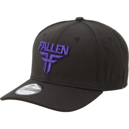 Entertainment The Fallen Insignia New Era Stretch Fit Hat features fresh logo embroidery and a deep-fitting flat-brim profile that's way easier on the wallet than a full-on fitted. - $22.06