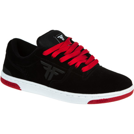 Skateboard Technical, slim, and incredibly resilient. Tom Asta's signature kick, the Fallen Seventy Six Skate Shoe, is an apple that hasn't fallen far from the tree. Equipped with FLX-Flexology, durable materials, and clean looks, the Seventy Six keeps your feet covered with heavy-duty comfort for skating and beyond. - $34.98