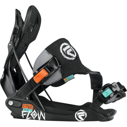 Snowboard You've got your foot in the door and there's no looking back. The Flow Five SE Binding serves as the liaison between Beginner Land and Advanced-ville with a stable platform and an appetite (and flex) for furious freestyle fun. - $125.99