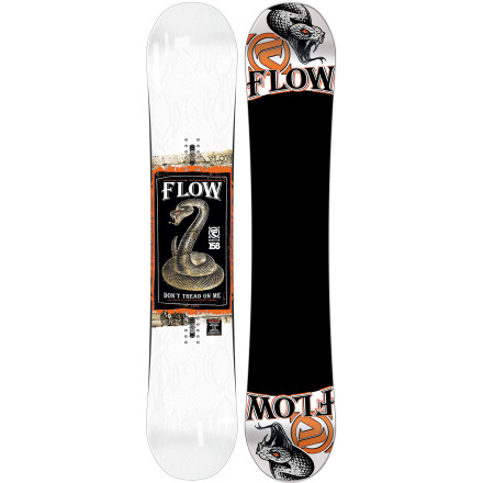 Snowboard Developed with Scotty Lago and over-caffeinated mad scientists confined to the secret underground laboratory at Flow's headquarters, the Flow Quantum Snowboard stands out using a grip of technology that results in an all-mountain freestyle whip bent on progression. - $245.99