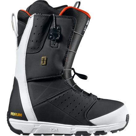 Snowboard Get your season started off on the right foot with the Forum Kicker Snowboard Boot. Tweaker shell construction has the perfect flex to allow for super boned-out grabs, while the Tweaker with Pop cuff and FGel cushioning protect your ankle and heel when things don't go as planned. Plus, the Footpillow footbed and Level 3 liner makes you feel more like you're wearing slippers than boots, and Forever Fit construction prevents the boots from packing out so you have a comfy, responsive, and consistent fit all season long. - $124.98