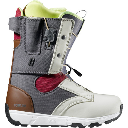 Snowboard 'Fitting like a glove' is more than a saying for the folks at Forum. The Women's Glove Tweaker Boot embraces it as a mantra for a thrill-seeking fit that doesn't squeeze or allow your heels to lift. To hit this goal, the Glove Tweaker relies on SpeedZone lacing, Tweaker Cuff, and Forum's supportive yet soft Level 2 liner. - $99.98