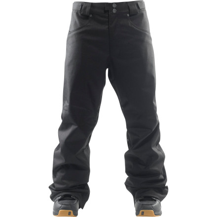 Snowboard Beyond just its canvas utility pant presence, the Foursquare Barrack Pant has a die-hard work ethic so you can handle business on the hill without having to worry about being thwarted by weather. But if you want to hang sheetrock in them too, that's cool with us. - $71.98