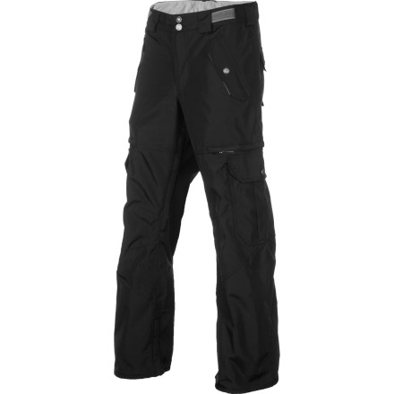 Snowboard Generous venting, rugged 420D fabric, and plenty of style make the Foursquare Gasket Pant a functional and comfortable shred pant that is built to handle whatever abuse you or the mountain can dish out. - $69.98