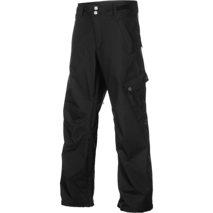 Snowboard Protect your right to put in work on the mountain with the Foursquare Work Pant. Don't be fooled by the clean looks of this pant, because the abrasion-resistant micro-twill material diligently stands up to a season's worth of slaving away chasing powder and lapping through parks. - $41.98