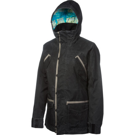 Snowboard Because its textile-meets-technology vibe, you can shake your little thing on the catwalk in the Foursquare Women's Runway Jacket, but it works a whole lot better shralping up and down the mountain. - $119.98