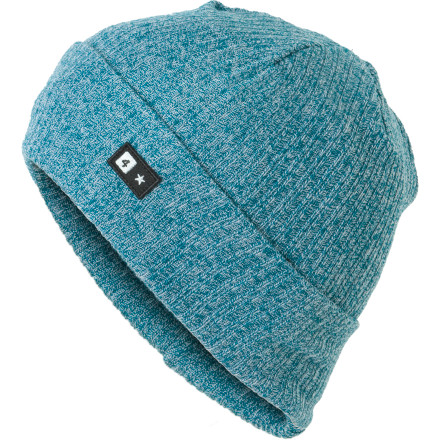 Contain that mangy beast within the comfortable confines of the Fourstar Clothing Bar Fold Beanie. - $9.48