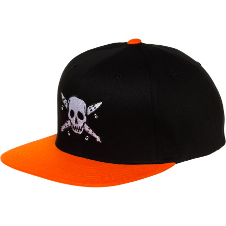 Amidst all the booty-plundering, the noble wearer of the Fourstar Clothing Co Street Pirate Starter Hat should take a moment to admire the beauty of the streets. Then continue plundering them. - $27.45