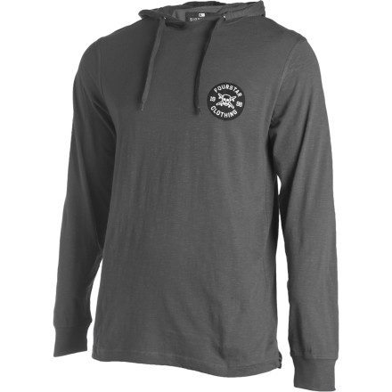 Skateboard Sean Malto's signature Porter Hoody features a lightweight slub-knit fabric and Fourstar's iconic skate Pirate logo. - $28.77