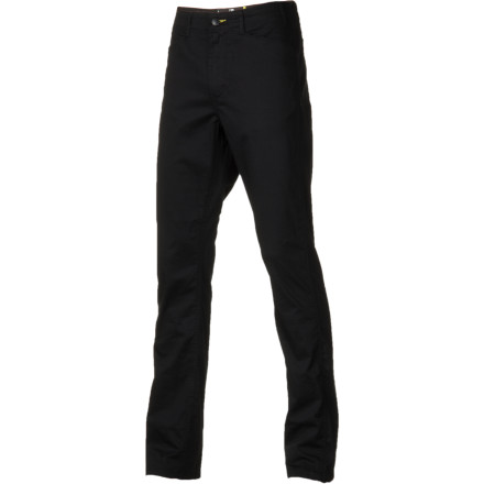 Skateboard Professional skateboarder Brian Anderson specified a trim and tailored fit with a straight leg for the Fourstar Anderson Straight Slim Pant so you can look put-together when you're getting loose. The light twill material looks like a traditional workwear-style pant but adds some stretch for skate performance. - $35.17