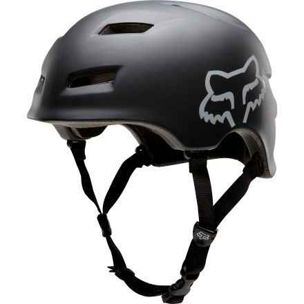 MTB Fox Racing designed the Transition Helmet with skate styling, lightweight in-mold construction, and 12 strategically-placed vents to bring comfort and protection to the next level as you shred the jump park. - $49.95