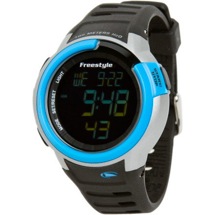 Entertainment The Freestyle USA Mariner watch will take care of all of your digital concerns when you find yourself surrounded by miles and miles of big blue ocean. - $44.97
