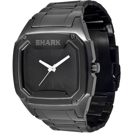 Entertainment The most dangerous predator in the ocean has been technologically transformed into a really-not-dangerous-at-all watch. The Freestyle USA FMKS Watch combines the durability of a stainless steel, water-resistant battle tank with the style and grace of a great white. - $134.95