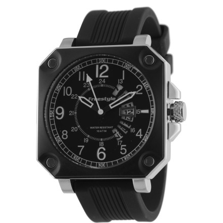 Entertainment The Freestyle Trooper Watch is big, bold, and battle-tested everywhere from the beach to the bar. - $149.95