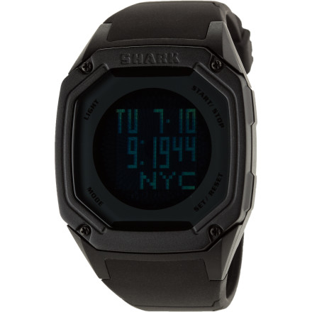 Entertainment Short of growing legs and crawling out of the water, the Killer Shark Touch Watch is the natural evolution of the classic Shark surf watch. The Touch Watch features a durable acrylic lens with an intuitive touchscreen module, making those clumsy button presses a thing of the past. - $63.22